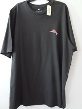 Tommy Bahama NEW  Mens SHORT SLEEVE  T-Shirt 100% COTTON GRAZED AND CONFUSED XLT