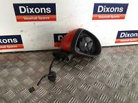 Corsa D Right Drivers O/S ELectric Wing Mirror Red