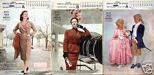 3x Mayers Schweizer Frauen- und Modeblatt Nr. 2+3+4/1954 mit Schnittmusterbog
