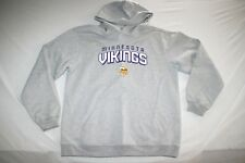 Minnesota Vikings NFL Hoody Sweat Shirt Youth XL 18 20 Gray NEW