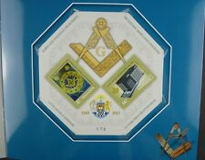Rumänien Romania 2015 Freimaurer Masonic Freemason Masoneria Block im Folder MNH