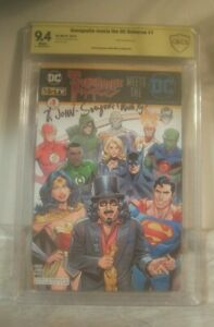 SVENGOOLIE MEETS THE DC UNIVERSE #1 NYCC SIGNED CBCS 9.4 METV comic NOT CGC