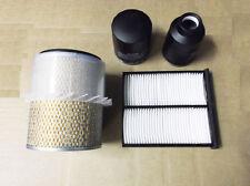 Per Mitsubishi l200 2.5td Filtro Servizio Kit Olio/aria/combustibile/polline 4d56t k74/k64