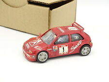 Kit Monté SB 1/43 - Citroen Saxo Kit Car Ronde Cevenole 1997 n°1