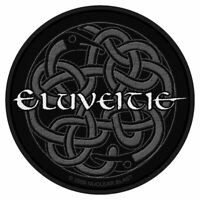 """ELUVEITIE - """"CELTIC KNOT"""" WOVEN SEW ON PATCH"""