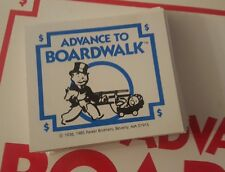 1985 ADVANCE TO BOARDWALK 28 FORTUNE CARDS COMPLETE SET REPLACEMENT PARTS EUC