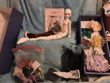Luts jamong Bjd Msd Doll White Mermaid Original Faceup And Extras