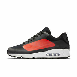 NIKE MENS AIR MAX 90 RUNNING TRAINER SHOES SIZE 7.5-9.5 BLACK DEADSTOCK