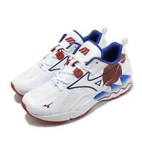 Mizuno Wave Rider 1 White Red Blue Men Running Sportstyle Shoes D1GA2003-62