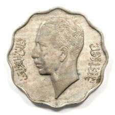 1938 Iraq Ghazi I 10 Fils Coin in Uncirculated Condition. KM# 105.
