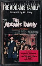 ADDAMS FAMILY Vic Mizzy AUDIO CASSETTE Tape PROMO Soundtrack MINT + SEALED oop!