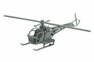 Far East or Jungle Sioux Helicopter 28mm MDF Building Sarissa K015