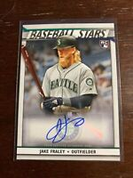 2020 Topps Jake Fraley Baseball Stars Rookie Auto Seattle Mariners Autograph RC