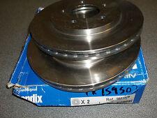 Chrysler Voyager MK2 1995 - 2001 562137B Vented Bendix Front Brake Discs (Pair)