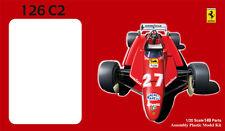 Fujimi GPSP-1 1/20 Grand Prix Model Formula One Car Kit Ferrari 126C2 Clear Body