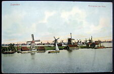 NETHERLANDS~HOLLAND~ 1900's ZAANDAM ~ Molengroep (de Poel)  DUTCH WIND MILLS