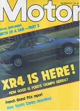 MOTOR Magazine - April 13 1983 - Test: Ford Sierra XR4