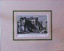 ROMA - Veduta degli Avanzi dell'Acquedotto Claudio - PRONTI -1795 - Rif. 189 R 7