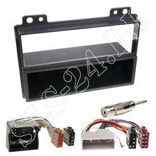 Autoradio Einbaurahmen Radioblende+ISO Adapterkabel Einbauset Ford Fiesta Fusion