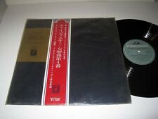 JAPANESE PRESSING W/OBI Willem Mengelberg: Tchaikovsky Symph 4 In Fm ANGEL MINT!