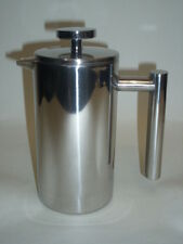 New Grunwerg Stainless Steel Double Walled Coffee Plunger Cafetiere 3 Cup CFD-03