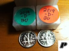 2019 P&D Roosevelt Dimes from Bu Bank Rolls ~ Free Fast S&H
