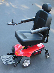 JAZZY Select Elite Red ELECTRIC WHEELCHAIR by Pride Mobility