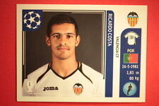 PANINI CHAMPIONS LEAGUE 2011/12 N. 299 COSTA VALENCIA WITH BACK BACK MINT!!