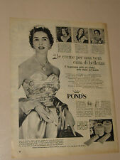 POND'S CREMA LADY DE HOGHTON=ANNI '50=PUBBLICITA=ADVERTISING=WERBUNG=352