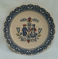 Johnson Bros Hearts & Flowers Dessert Plate Staffordshire Old Granite Ironstone