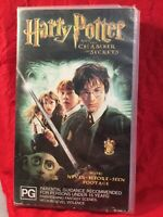 Harry Potter chamber of secrets Original Collectable retro 2002 VHS Tape
