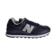 New Balance 574 Classics Mens Shoes Navy-Silver ml574-lpn