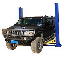 APlusLift HW-10KBP Two Post Floor Plate Auto Hoist Car Lift 10000 LB Capacity