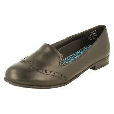 Angry Angels Girls School Shoes by Startrite Halo Heel UK 3 Black M