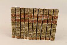 Boswells Life of Samuel Johnson, LL.D. 1836 10 vol. Leather Bound