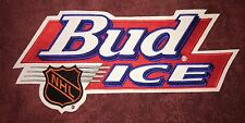 Rare 1995 Bud Ice NHL Hockey Jersey Front Patch Crest