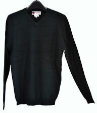 NWT iliac golf Bert LaMar Black Sweater Long Sleeves Size S