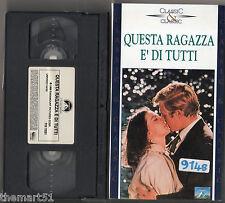 Questa Ragazza è di Tutti (1966)   VHS  Paramount Video   Sydney Pollack Redford