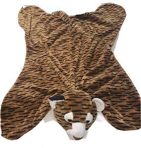 """Gund Tasha Cuddles Playmat Flat Lovey Plush 40"""" Long Tiger #31050"""