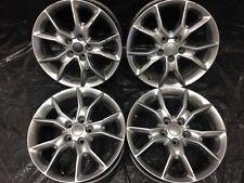 "20"" Inch Jeep Cherokee Durango OEM Wheels Rims Factory 4 set 4-set Hyper Silver"