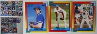 1990 Topps Chicago Cubs Team Set of 34 Baseball Cards With Traded
