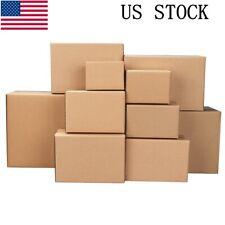 100pcs Cardboard Paper Boxes Mailing Packing Shipping Box Corrugated Carton Us