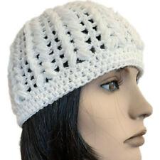 Berretto cappello donna lana Pouff artigianale fatto a mano uncinetto