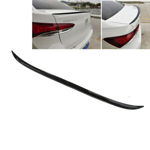 4 ft Universal Spoiler Carbon Fiber Look Rear Roof Trunk Molding Lip Sport Wing
