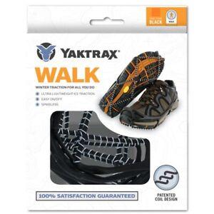 Yaktrax WALKER WALK Snow Ice Walking Hike Pro Shoe Chain Safety Anti-Slip Grips