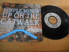 "7"" POP SIMPLE MINDS-up on the catwalk/a Brass Band In Africa (2) canzone Virgin"