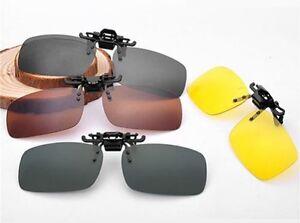 Sonnenbrille Brillen Aufsatz Clip Polarisiert Polaufsatz Überbrille Clipon