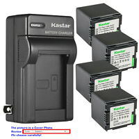 Kastar Battery Wall Charger for Panasonic CGA-DU21 CGR-DU21 & PV-GS36 PV-GS39