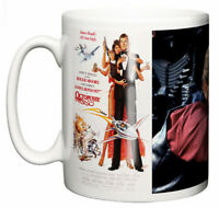 Dirty Fingers Mug, Roger Moore James Bond Octopussy, Film Design Poster