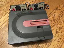 SHARP Nintendo TWIN  Famicom Console Tested Working REPAIR  AN 500B